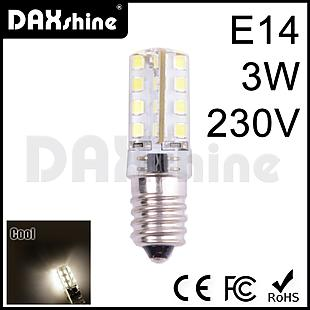 DAXSHINE 32LED E14 3W 230V Cool White 6000-6500K 160-190lm