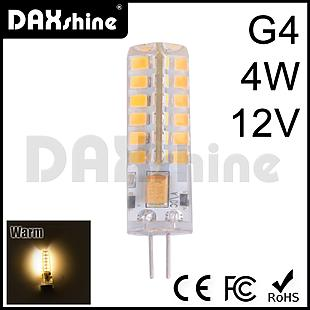 Daxshine 48LED Bulb G4-4W DC12V Warm White 2800-3200K
